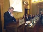 Berni al microfono poi nell'ordine Rosati Catania Semerari e Pirrotta.JPG