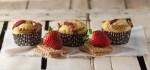 Muffin di primavera alle fragole - Ufficio stampa ORO Saiwa