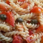 Fusillini pomodorini, acciughe e capperi - Giusepp