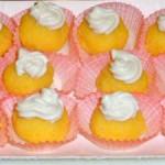 Palline di polenta con mousse di mozzarella di buf