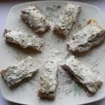 Fettine di pasta sfoglia con pere, ciocolato e pis