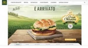 Gran Chianina panino McDonalds