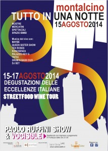 POSTER NOTTE BIANCA 2014