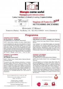 Locandina Mangia A4 sett#E39AFD