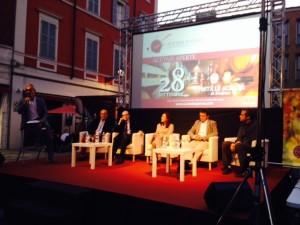 Un momento della preview filosofica di sabato 27 a Modena