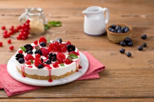 Crema Ricotta cheese_cake_red