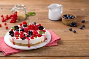 Crema Ricotta cheese_cake_red