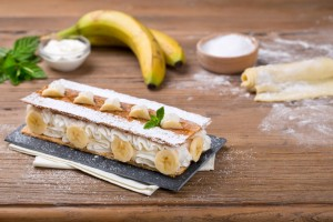 Crema Ricotta millefoglie_banane_red