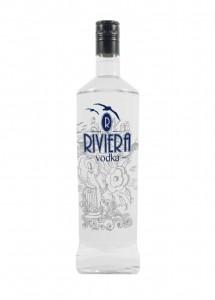 riviera vodka - bottiglia