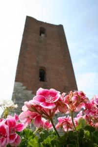 Castello di Giulietta - particolare della Torre