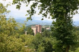 Le torri del Castello di Romeo a Montecchio Maggiore (1)
