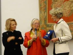 Premio Minerva 2015 a Donatella Cinelli Colombini