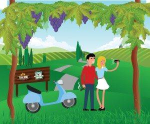 Cantine Aperte 2016_Illustrazione Mtv Toscana Social