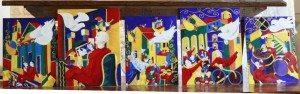 Quando la cantina diventa una galleria d'arte: La Colomba di Roberto Turchi volta tra i tini del Casato Prime Donne a Montalcino
