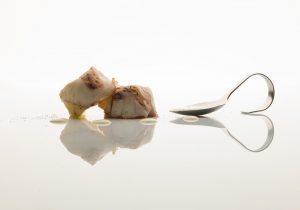 Tortino di Patate Aspromontane, polipo verace e fonduta di Caciocavallo di Ciminà2foto mileto