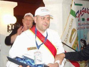il vincitore Mirko Ricci
