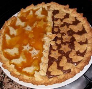 Torta bigusto nutella e albicocche di Tania