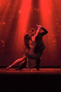 tango di apertura della serata