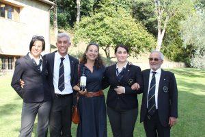 4 Diana e Vincenzo D'Isanto con i tre finalisti