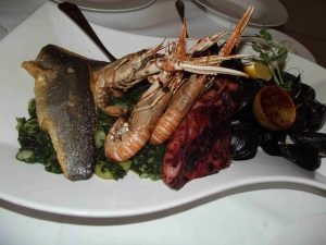 Dubrovnik la cucina a base di pesce